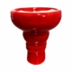 Aladin Shisha Kopf Ton Glasiert Mehrloch Mehrlochkopf Luxemburg Luxembourg Rot Red