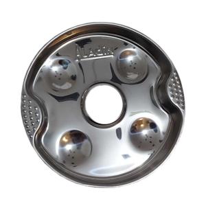 Metall Kohleteller Teller Kohle Riesig Big Huge Charcoal Plate Shisha Hookah Wasserpfeife Nargile Luxemburg Luxembourg