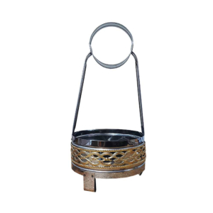 Metal Kohlekorb Kohle Korb Charcoal Basket Charbon Gold Silber Silver Shisha Hookah Wasserpfeife Nargile Luxemburg Luxembourg